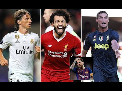 Cristiano Ronaldo, Mohamed Salah Luka Modric make UEFA player of the year shortlist