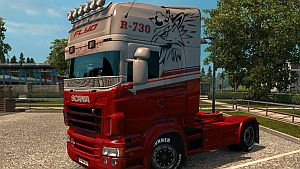Flyd skin for Scania RJL by Alexander Lone Wolf