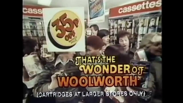 Woolworth Cassette Tapes Ad 1983