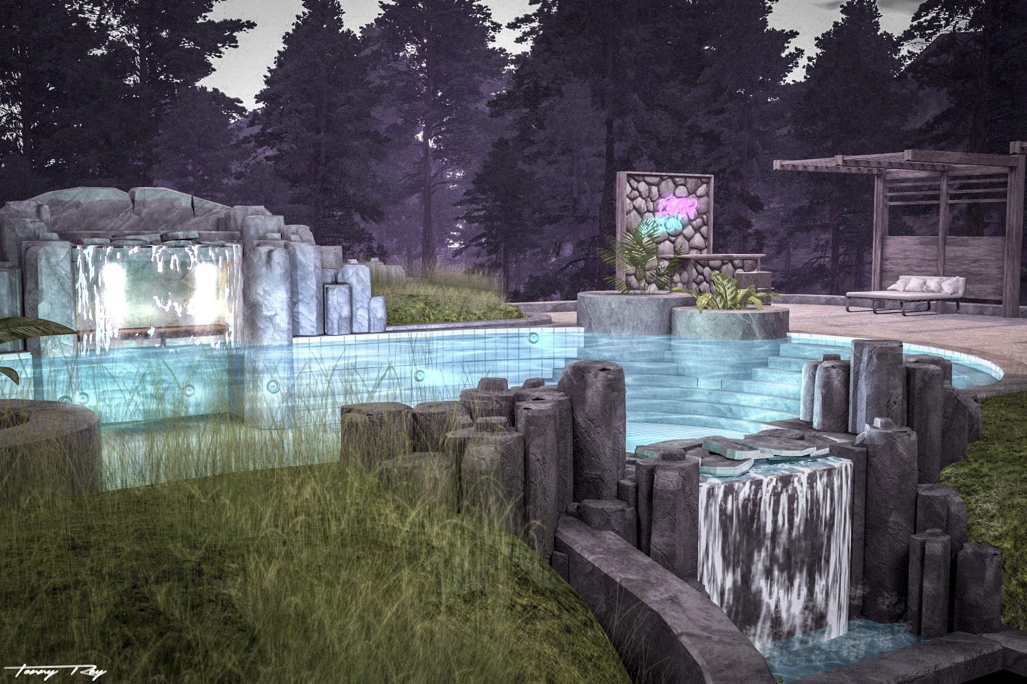 The Pool Bar…