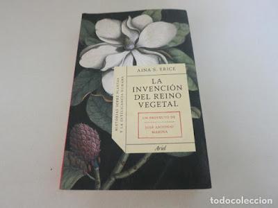 Libro Invención reino vegetal