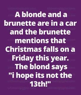 Funny And Hilarious Brunette Blonde Jokes jokestotell.com
