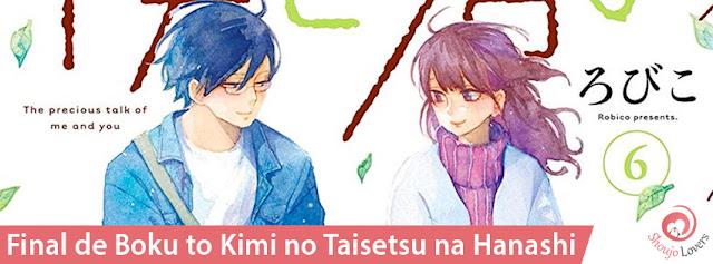 Final de Boku to Kimi no Taisetsu na Hanashi