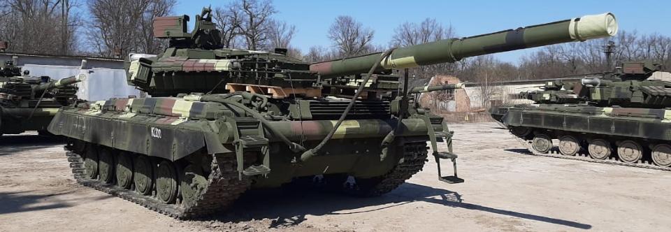 Модернізація танків Т-64 Львівським бронетанковим заводом