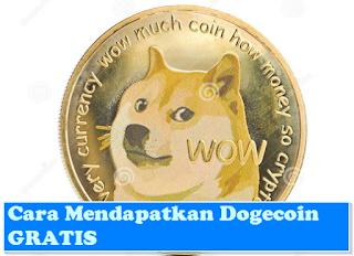 Cara Dapat Dogecoin & Bitcoin Gratis Bagi Pemula