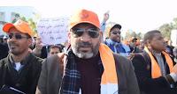 الدحمان: احتجاج نهاية الأسبوع سينطلق من نفس مكان تعنيف الاساتذة