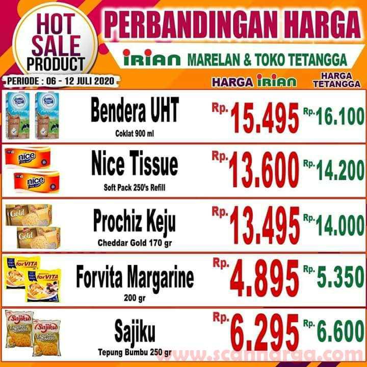 Katalog Promo IRIAN Supermarket Dan Department Store 6 - 12 Juli 2020 3