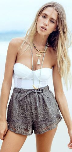 Trending Short Outfits Ideas to Copy #shortoutfits