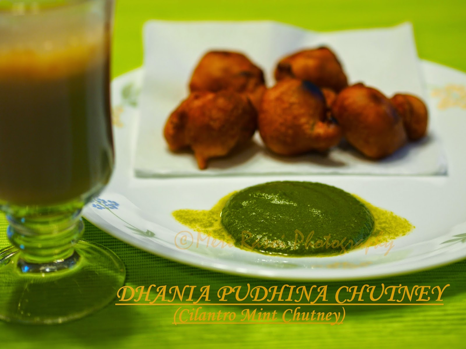 how to make dhania chutney