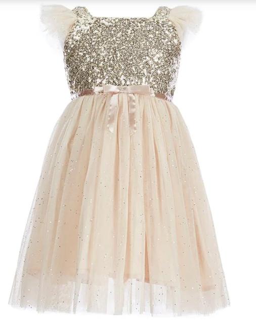 Popatu Girls Glitter Dress