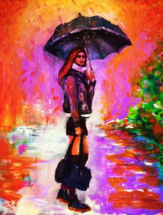 Светлые и яркие цвета. Karen Zima