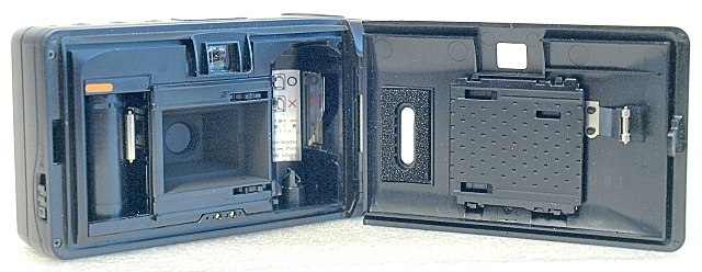 Yashica Minitec AF, Film box
