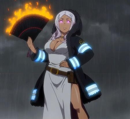 พริ้นเซส ฮิบานะ (Princess Hibana: プリンセス 火華) @ หน่วยผจญคนไฟลุก