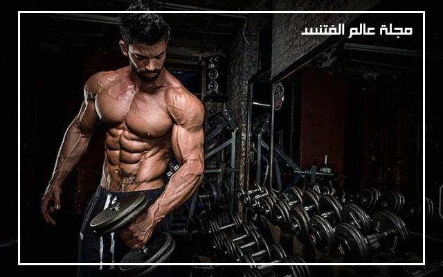 لماذا لاتنمو العضلات