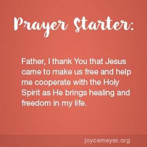 Joyce Meyer Ministries: Daily Devotional Topic- Set Free