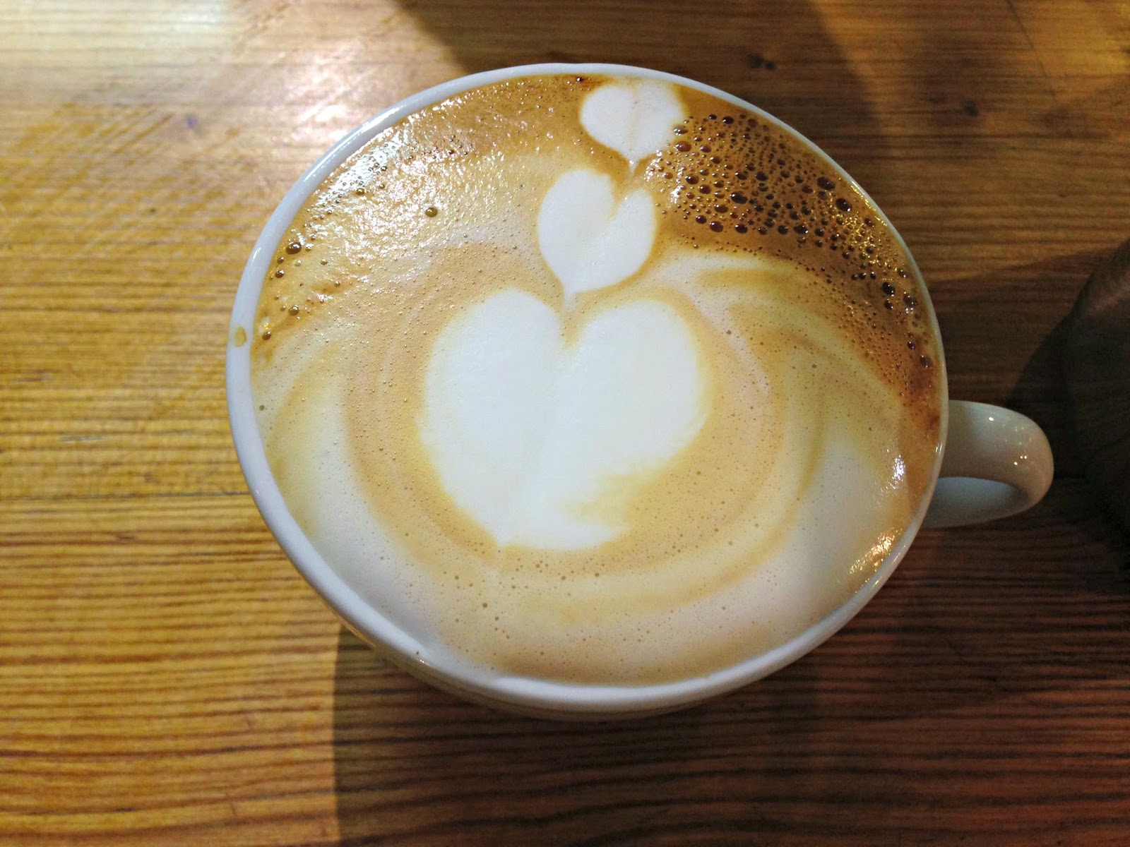 Small Batch Coffee Brighton Latte Art