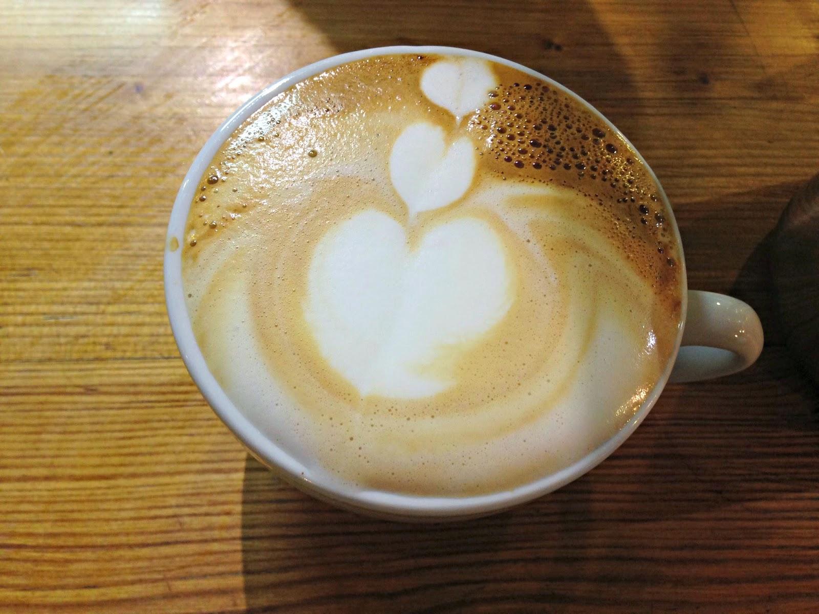 Small Batch Coffee Brighton Latte Art