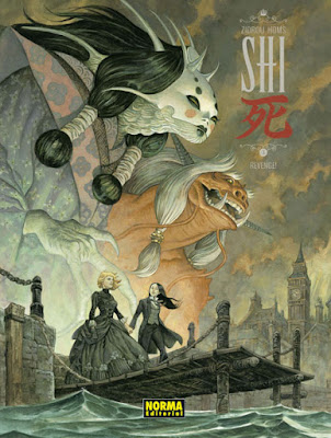 "Comic: Review de ""Shi 3: Revenge"" de Homs y Zidrou - Norma editorial"