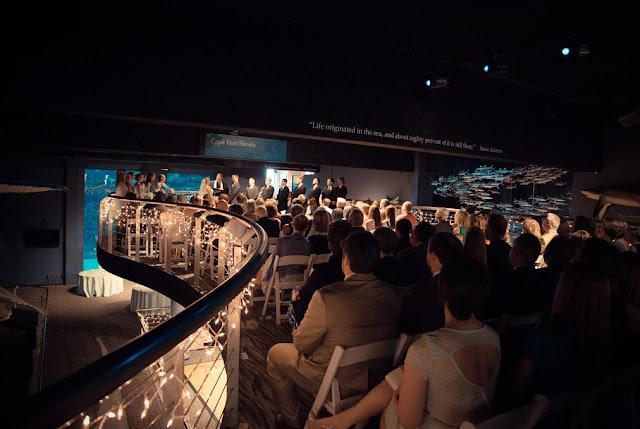 Aquarium Wedding Venues north carolina aquarium at fort fisher