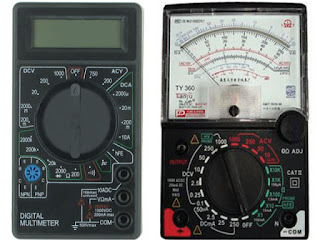 comparison between analog and digital instruments