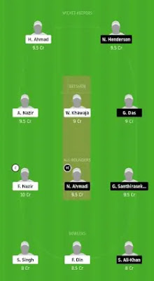 ZUCC vs ZNCC Dream11 team prediction