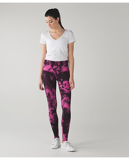 lululemon blooming-pixie-raspberry wunder-under-pant