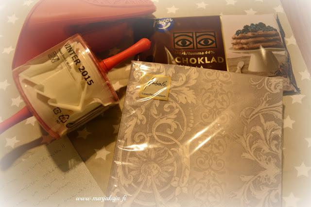 jouluystavan paketit