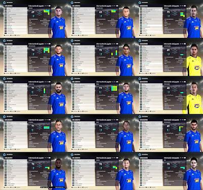 PES 2021 Cruzeiro Facepack