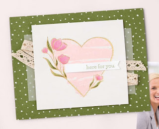 Stampin' Up! Strong of Heart Card ~ July-December 2021 Mini Catalog