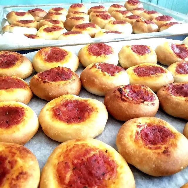ricetta pizzette morbide