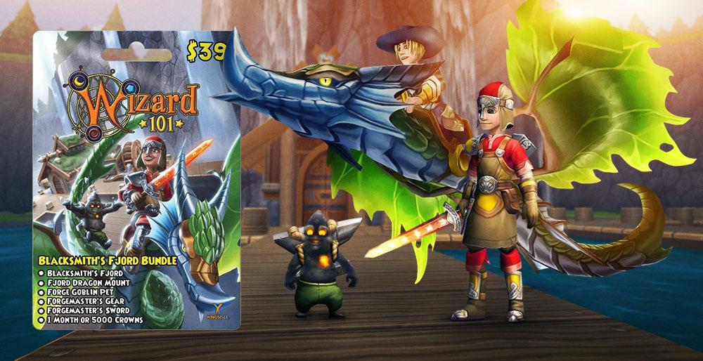 Wizard101 Blacksmith's Fjord Bundle