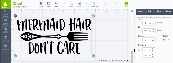 How to Upload Your Own Images in Cricut Design Space | artsy-fartsy mama