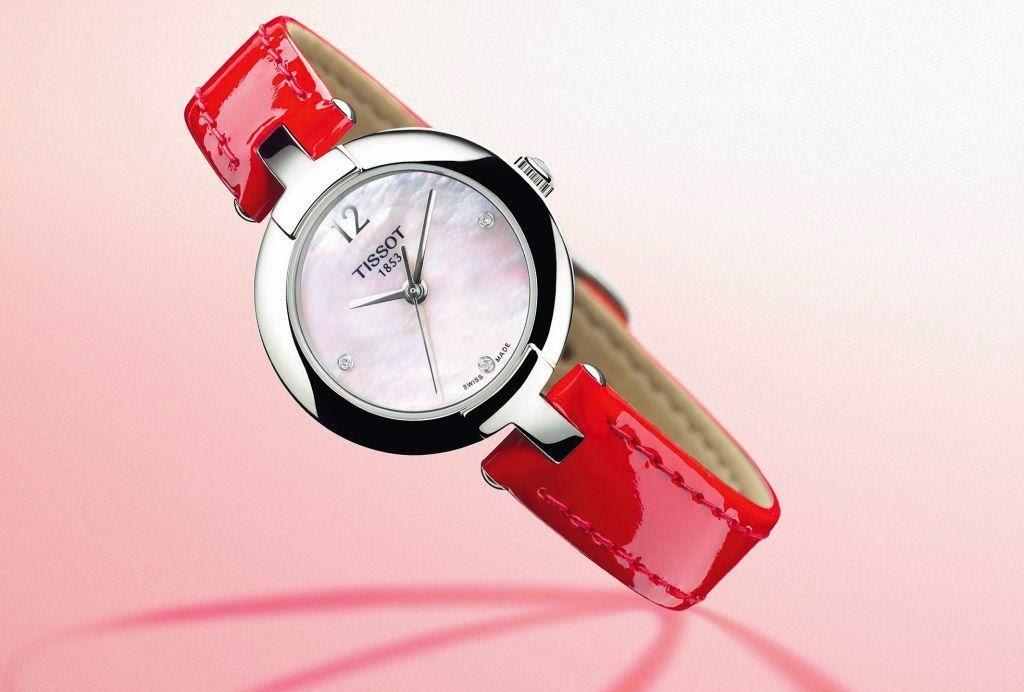 Pinky by Tissot Valentine's Day watch