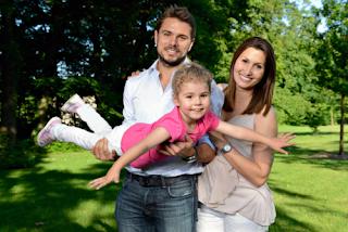 Garbine Muruguzas Boyfriend Stan Wawrinka With His Ex Wife Ilham Vuilloud And Their Daughter