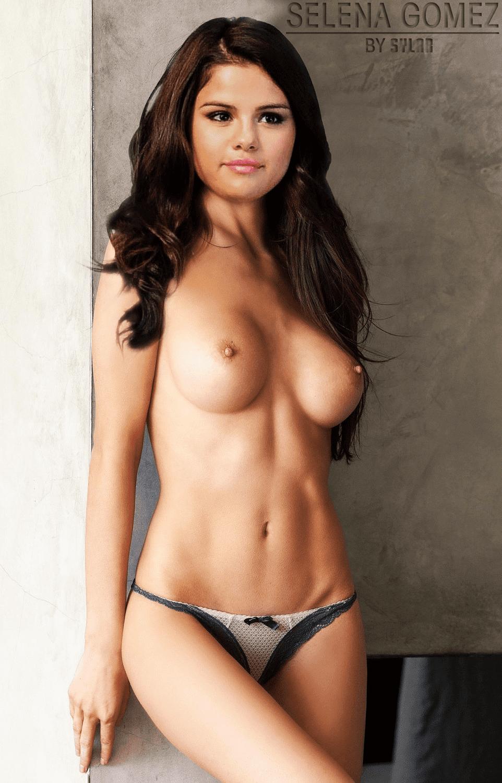 selena-gomez-naked-with-uniform