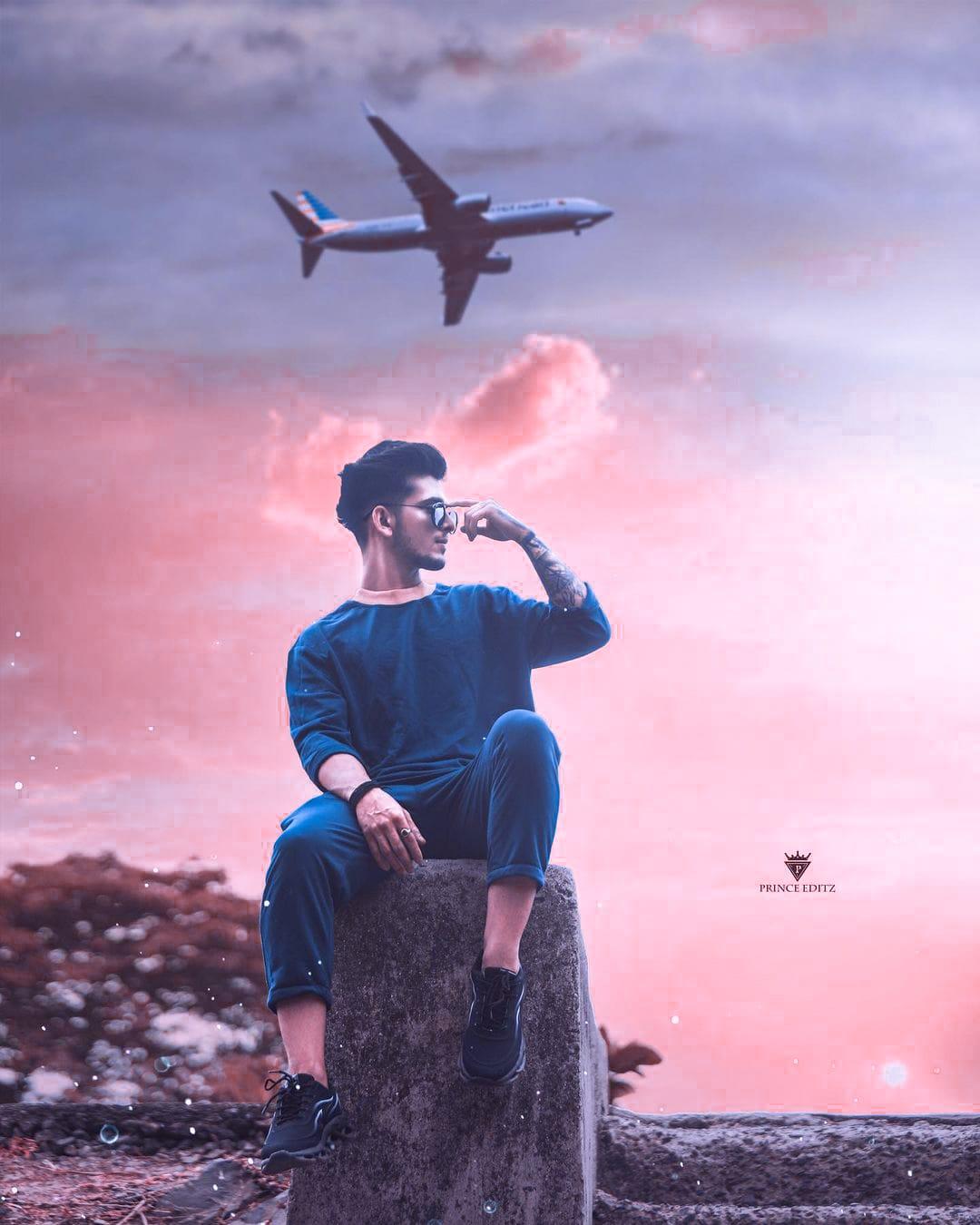 Snapseed Airplane editing