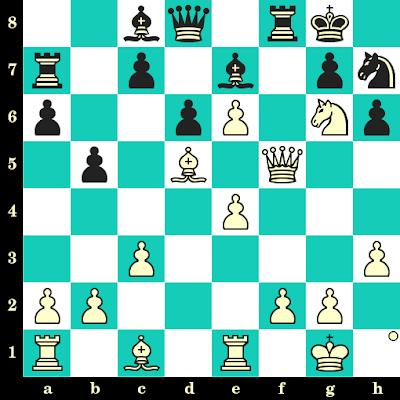 Les Blancs jouent et matent en 2 coups - Werner Hobusch vs Liebscher, corr., 1984