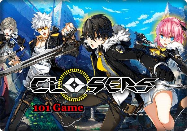 Корейская аниме игра на пк - Closers
