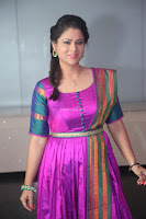 Shilpa Chakravarthy in Purple tight Ethnic Dress ~  Exclusive Celebrities Galleries 054.JPG
