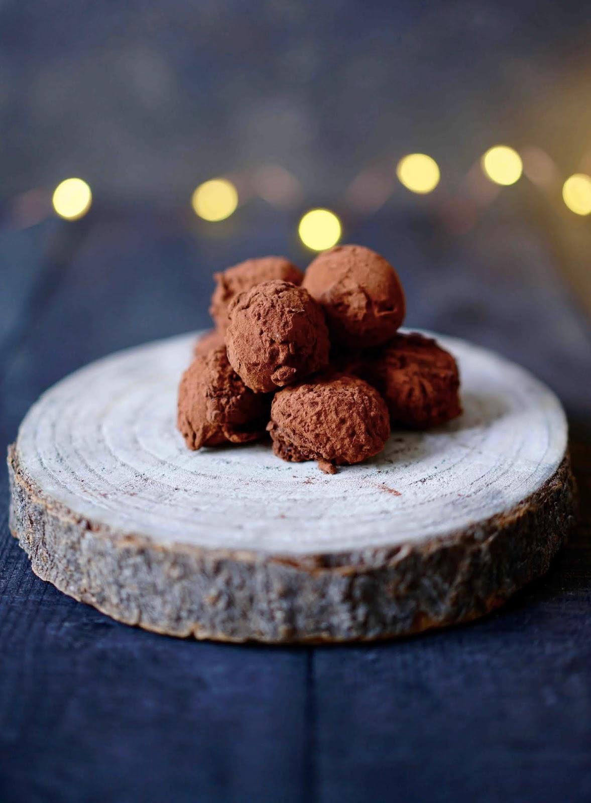 enrobage chocolat Dulcey , Valrhona , truffes fondantes , ganache chocolat , recettes de noËl