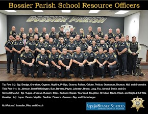 Sheriff's Department has a highly trained officer at every school in Bossier Parish