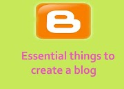 Essential things to create a blog in english (full details)