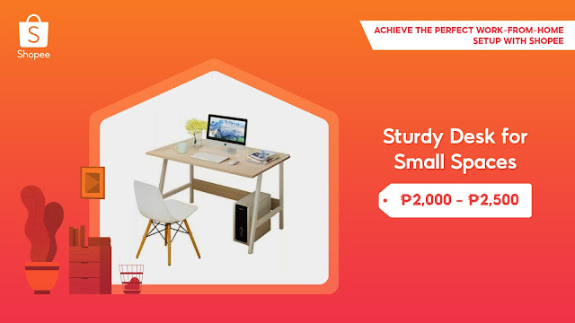 sturdy desk for small spaces