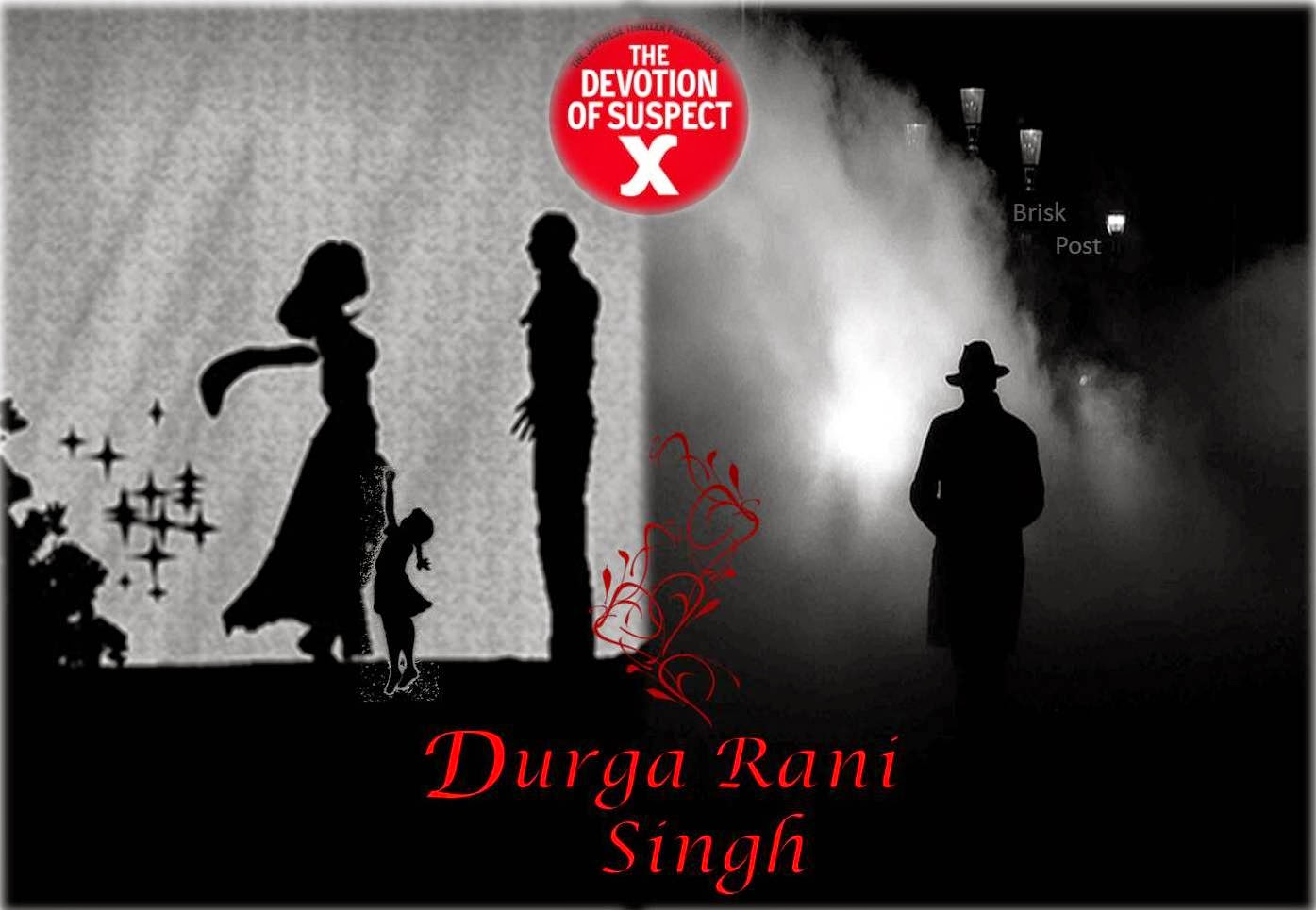 Characters of Bollywood movie Durga Rani Singh which is based on a Japanese novel The Devotion of Suspect X by Keigo Higashino