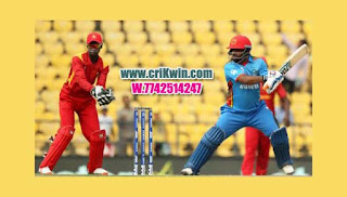 Who will win Today Cricket Win Tips 2nd Match Zim vs Afg