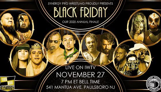 Indie Wrestling Wire: Synergy Pro Wrestling makes IWTV live debut with #SPWBlackFriday - recap