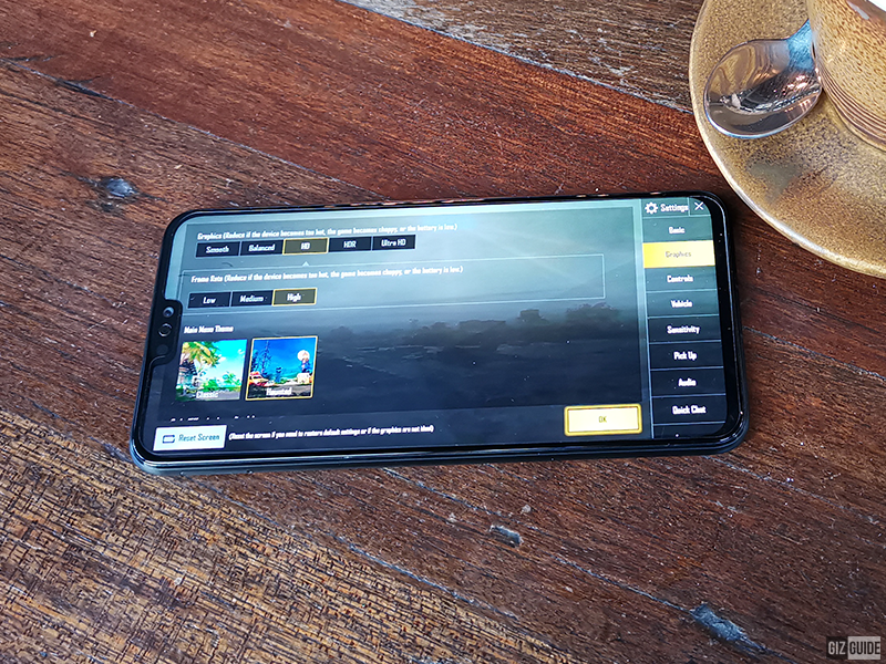 Our PUBG Mobile settings
