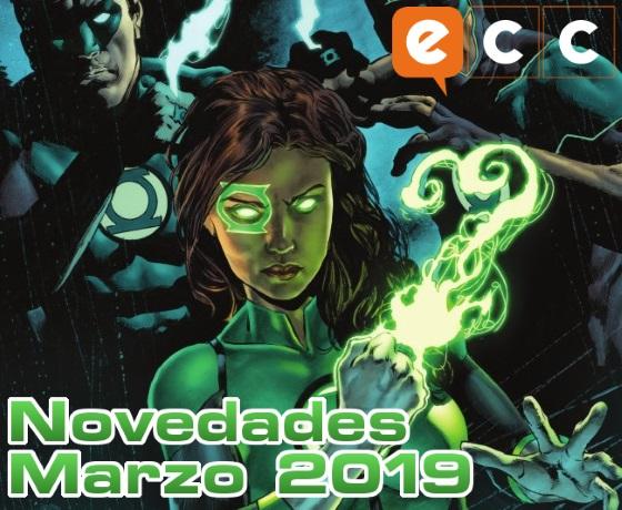 Novedades de ECC Ediciones para Marzo de 2019