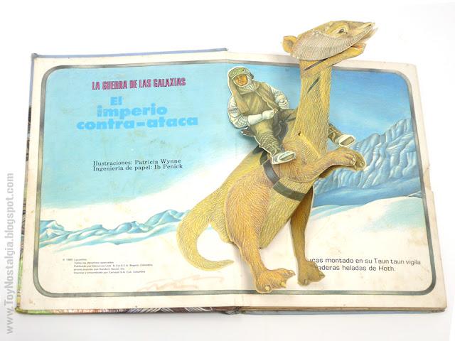 El Imperio Contraataca - Un libro Pop UP  1980 - Editorial NORMA - Libros Animados Ib Penick