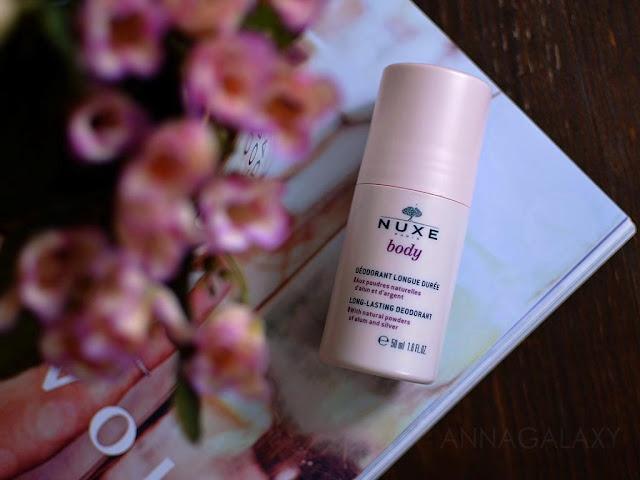 Дезодорант Nuxe Body Long-Lasting deodorant отзыв